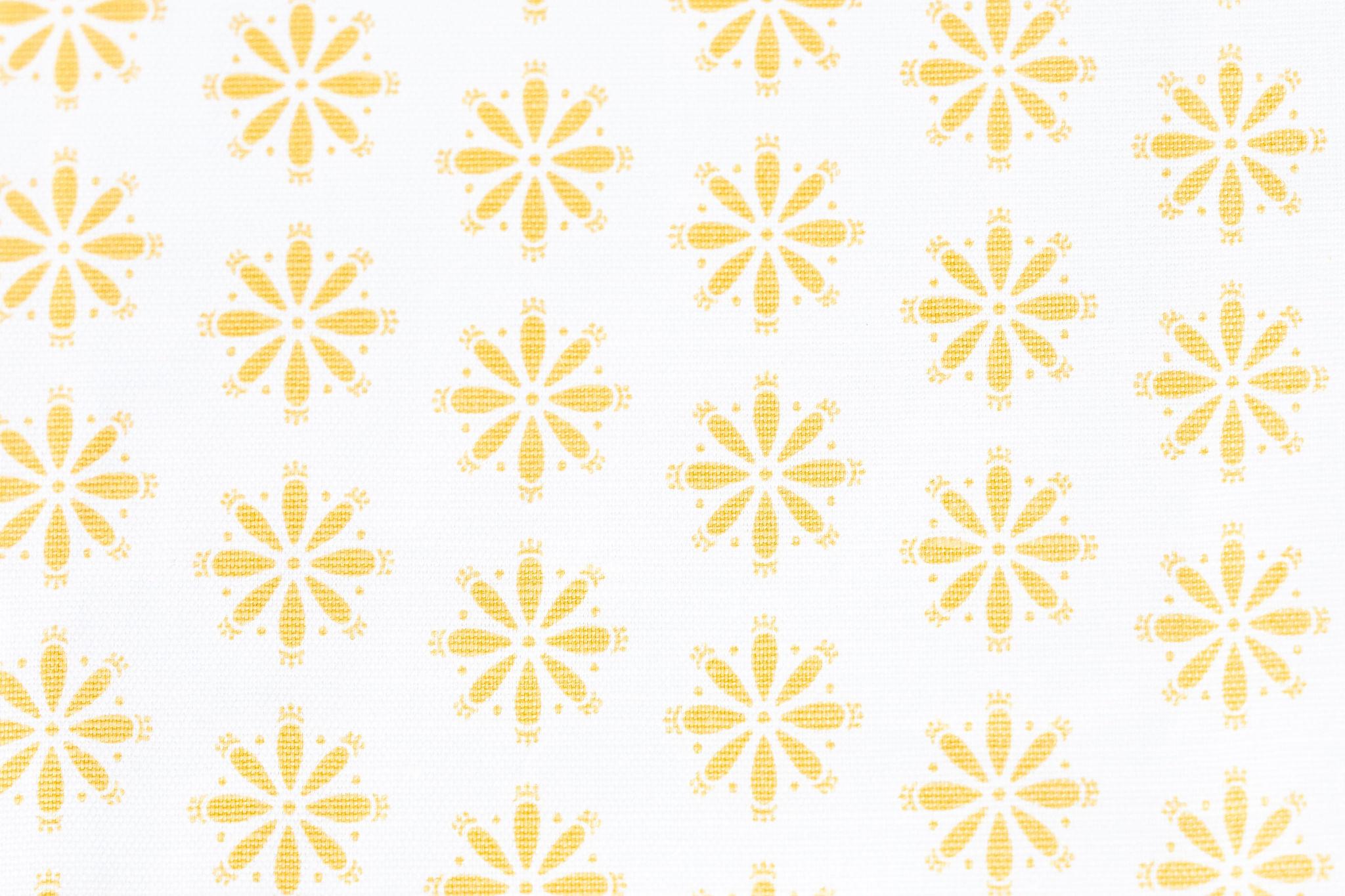 Libby Yellow 03 Fabric
